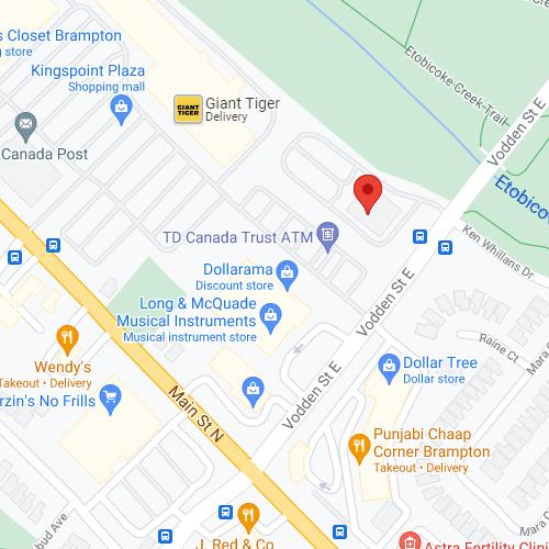 ED Clinic Brampton location