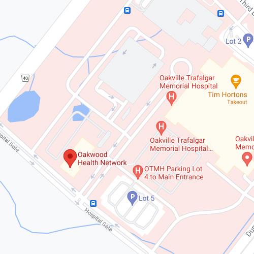 ED Clinic Oakville location